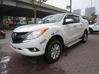 Cần bán xe Mazda BT 50 đời 2015, màu trắng, nhập khẩu