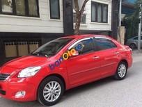 Bán xe Toyota Vios 1.5G đời 2010, màu đỏ
