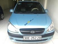 Bán ô tô Hyundai Getz 2009, màu xanh dương, nhập khẩu, giá chỉ 250tr