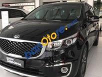 Cần bán xe Kia Sedona năm sản xuất 2016, màu đen