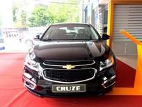 Cần bán xe Chevrolet Cruze LTZ 2017, màu đen,hỗ trợ vay nhanh chóng