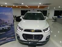Cần bán Chevrolet Captiva LTZ 2017, màu trắng, KM 40tr, hỗ trợ vay nhanh chóng