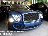 Bentley Mulsanse Speed 2016 màu xanh