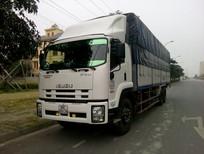 Bán xe tải Isuzu thùng mui bạt FVM34W ( 6x2 ) , isuzu F-SERIES  14,5 tấn 2017