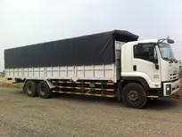Xe tải 14,5 tấn Isuzu thùng mui bạt FVM34W ( 6x2 )  ( F-SERIES ) , xe mới 100%