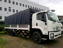 Bán xe tải Isuzu thùng mui bạt FVM34W 14.5 Tấn (6x2) xuất xứ Nhật Bản, giao ngay 2017