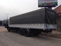 Bán xe tải Isuzu thùng mui bạt FVM34W ( 6x2 )  14,5 tấn F-SERIES  2017 giá cạnh tranh