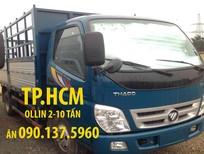 Bán xe Thaco OLLIN 500B mới, hai màu, nhập khẩu, giá hỗ trợ