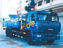 Bán xe tải nhãn hiệu Kamaz 65117 gắn cẩu Dinex DH76 3.5 tấn