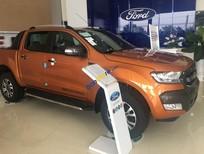 Ford Ranger Wildtrak 3.2L, đủ màu giao xe ngay, giá hấp dẫn, tặng full phụ kiện, hỗ trợ vay ngân hàng 80%