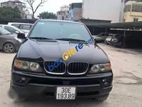 Cần bán BMW X5 năm sản xuất 2005, màu đen, xe nhập, 650tr
