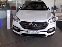 Cần bán Hyundai Santa Fe sản xuất 2016, màu trắng