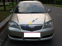 Cần bán xe cũ Toyota Vios sản xuất 2005, màu kem (be)