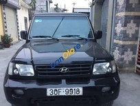 Cần bán Hyundai Galloper sản xuất 2002, màu đen