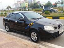 Bán ô tô Daewoo Lacetti EX sản xuất 2008, màu đen chính chủ, giá chỉ 248 triệu