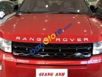Bán xe LandRover Range Rover Evoque Dynamic sản xuất 2012, màu đỏ, nhập khẩu