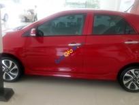 Cần bán xe Kia Morning SI đời 2016, màu đỏ tại Việt Trì, Phú Thọ