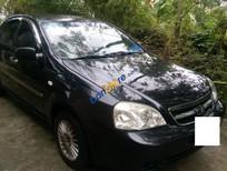 Cần bán gấp Daewoo Lacetti đời 2008, màu đen, xe cũ