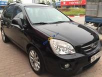 Cần bán lại xe Kia Carens LX năm 2010, màu đen