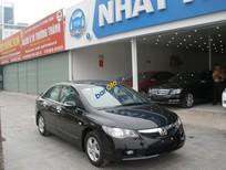 Cần bán lại xe Honda Civic 1.8i-vtec năm sản xuất 2009, màu đen số tự động, giá chỉ 505 triệu