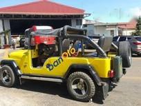 Cần bán gấp Jeep CJ đời 1980, màu vàng, nhập khẩu chính hãng