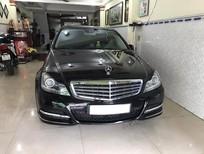 Cần bán xe Mercedes C250 Be 2012, màu đen xe đẹp