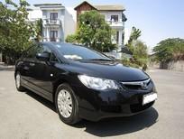 Bán Honda Civic 1.8 đời 2009, màu đen số sàn