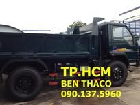 TP. HCM xe ben 5 tấn FORLAND FLD490C sản xuất mới, màu xanh lam, giá 351tr
