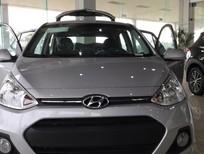 Bán Hyundai Grand i10 đời 2017, màu bạc, nhập khẩu nguyên chiếc