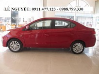 Bán ô tô Mitsubishi Attrage, màu đỏ, nhập khẩu, LH Lê Nguyệt: 0988.799.330