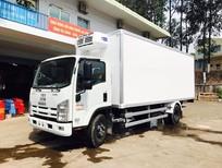 Xe tải Isuzu NQR75L thùng đông lạnh chính hãng, isuzu N-SERIES  4.6 tấn