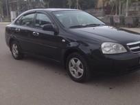 Bán ô tô Daewoo Lacetti ex 2009, màu đen