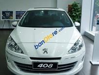 Cần bán gấp Peugeot 408 2.0L năm 2015, màu trắng, nhập khẩu nguyên chiếc số tự động