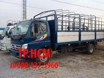 TP. HCM Thaco Ollin 700B sản xuất mới, màu trắng thùng tôn kẽm
