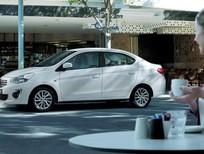 Bán xe Mitsubishi Attrage 1.2MT 2018, màu trắng, xe nhập 375 triệu, LH: Đông Anh 0931.911.444