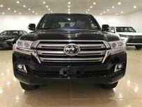 Bán Toyota Land Cruiser 5.7V8 2017 xuất Mỹ màu đen nội thất nâu da bò
