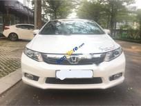 Bán Honda Civic 1.8AT đời 2012, màu trắng, giá tốt