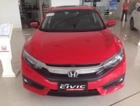 Biên Hoà - Honda Civic 1.5 Turbo 2017, màu đỏ, nhập khẩu nguyên chiếc, giá chỉ 898 triệu. Hotline 0908.438.214