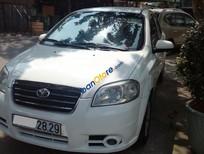 Cần bán lại xe Daewoo Gentra SX sản xuất 2008, màu trắng ít sử dụng, giá tốt