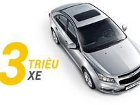 Chevrolet Cruze, chiếc sedan bán chạy nhất và nổi tiếng toàn cầu của Chevrolet đã được nâng tầm đẳng cấp