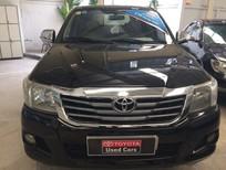 Cần bán lại xe Toyota Hilux 2.5E 2012, màu đen, 450 triệu