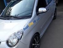 Cần bán lại xe Kia Morning SX sản xuất 2012, màu bạc xe gia đình