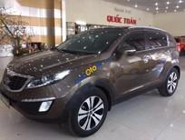 Bán Kia Sportage 2.0AT đời 2011, màu xám, nhập khẩu Hàn Quốc số tự động giá cạnh tranh