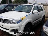 Toyota Bắc Ninh bán xe Toyota Fortuner Sportivo đời 2017, màu trắng