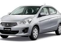 Cần bán Mitsubishi Attrage glx 2017, màu bạc, nhập khẩu