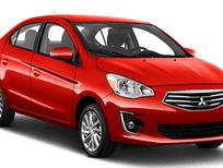 Cần bán Mitsubishi Attrage gls sản xuất 2017, màu đỏ, nhập khẩu nguyên chiếc