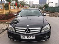 Cần bán xe Mercedes C230 đời 2007 đăng ký lần đầu 2009, màu đen, nhập khẩu ít sử dụng, giá chỉ 570 triệu