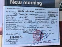 Bán xe Kia Morning 2012