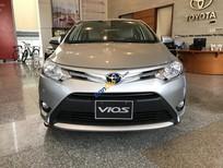 Bán xe Toyota Vios 1.5E CVT số tự động, khuyến mãi giảm tiền mặt, tặng phụ kiện, xe giao ngay, tài trợ vay 80%