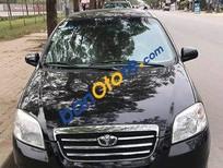 Bán xe Daewoo Gentra năm sản xuất 2010, màu đen